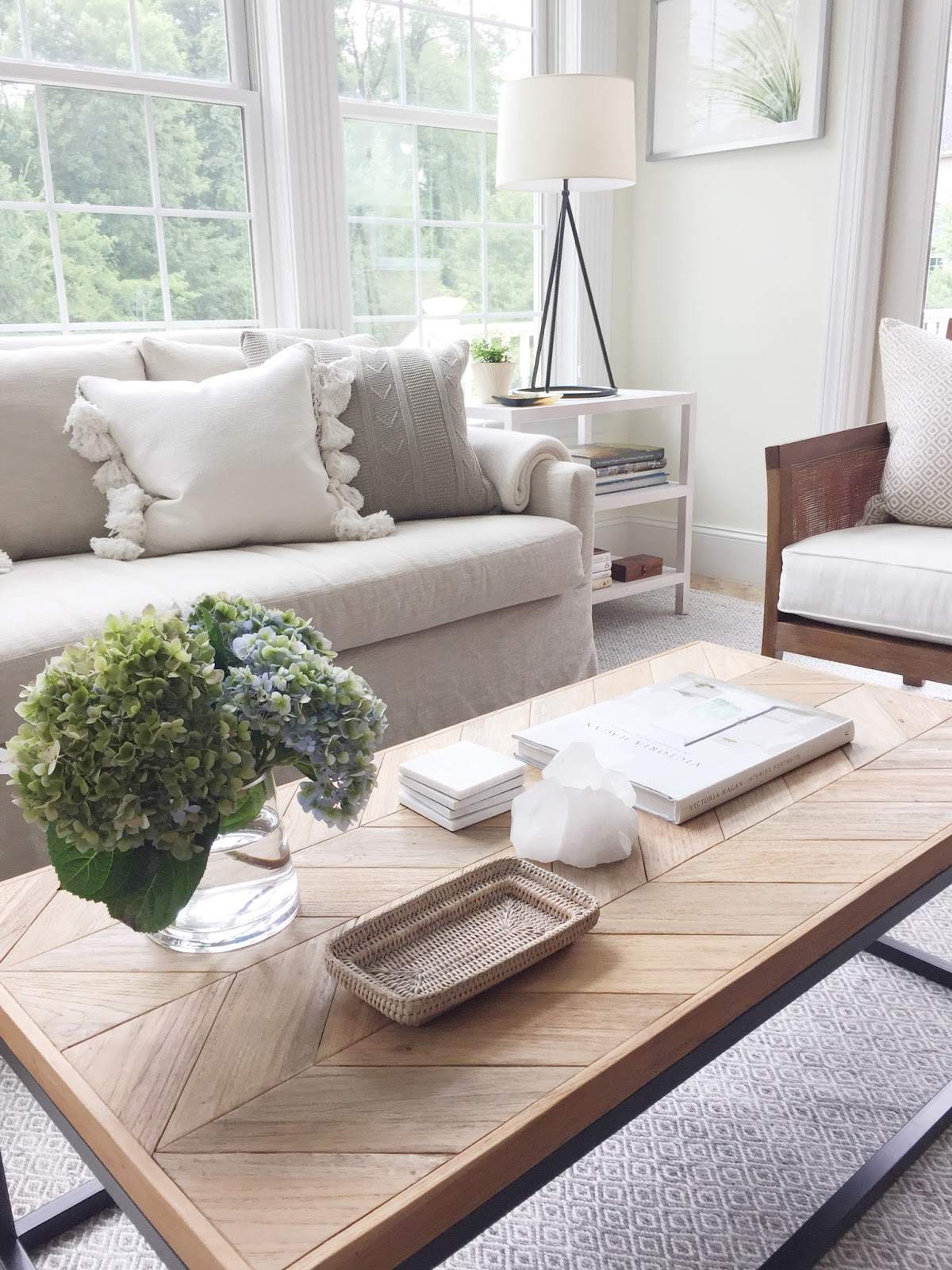 High Street Market Before & After From Dining Room to Sunroom