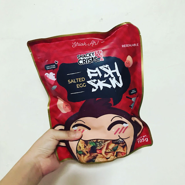 Review: Snacky & Crisps is better than Irvin's Salted Egg Fish Skin!