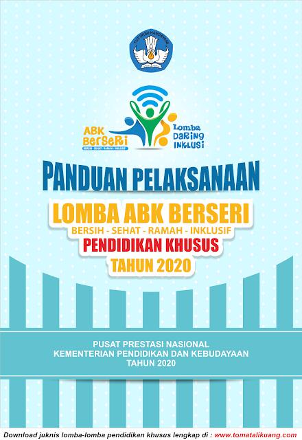 panduan teknis juknis lomba abk berseri pendidikan khusus tahun 2020 pdf tomatalikuang.com