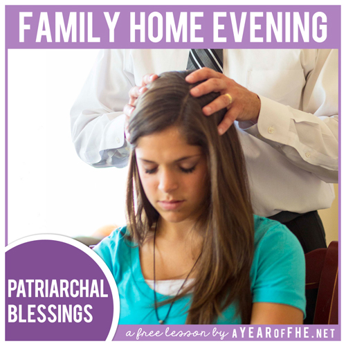 Lds Quotes On Family Home Evening: A Year Of FHE: Year 02 / Lesson 32: Patriarchal Blessings