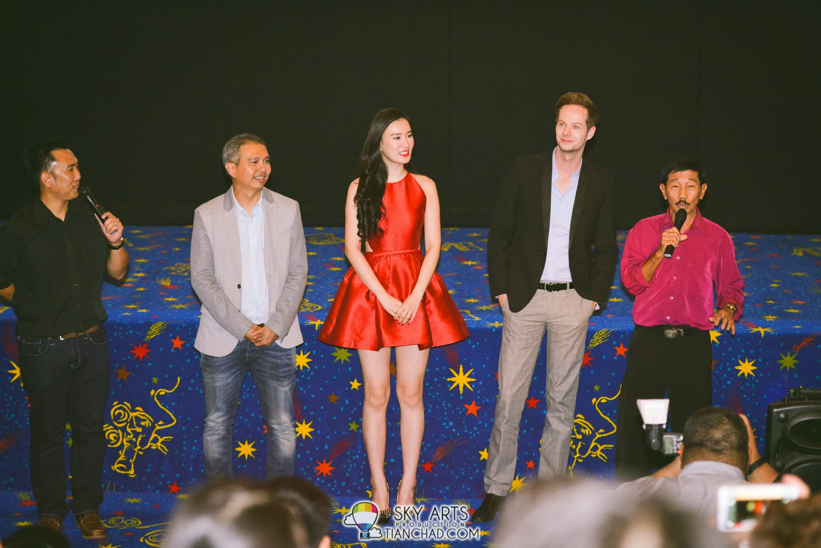 一路有你 The Journey Gala Premiere @ Paradigm Mall  开幕前致词与感谢支持