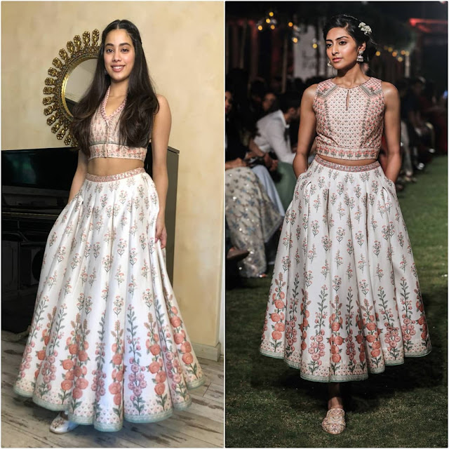 Janhvi Kapoor in Anita Dongre and Fizzy Goblet