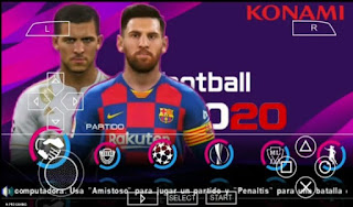 Pes 2020 Ppsspp Iso PS4 Camera