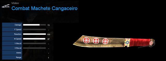 Detail Statistik Combat Machete Cangaceiro