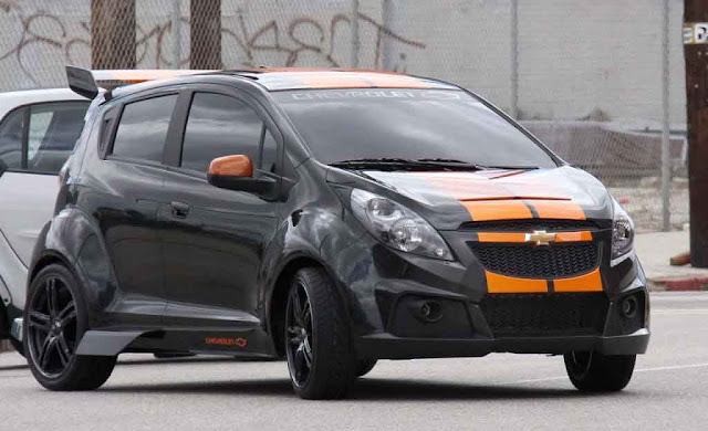 Chevrolet  Spark Transformers Autobot