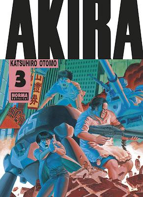 Reseña de AKIRA Edición Original vols. 2 y 3, de Norma Editorial.