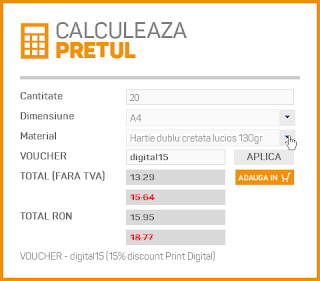 calculator preț headprint