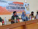 Gelar Sosialisasi dan Deklarasi Netralitas ASN, Ketua Panwaslu Haurgeulis: Taati Setiap Aturan yang 'Melekat'