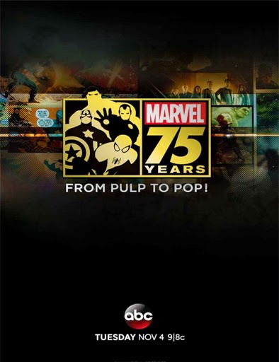 Ver Marvel 75 Years: From Pulp to Pop! (2014) Online