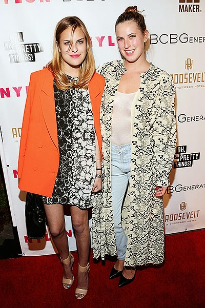 Tallulah and Scout Willis