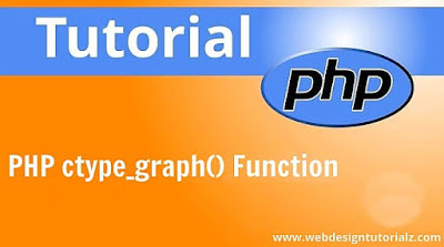 PHP ctype_graph() Function