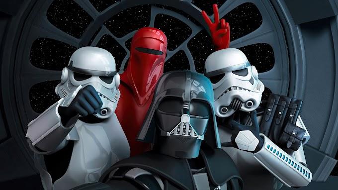 Tela de Fundo Star Wars Selfie