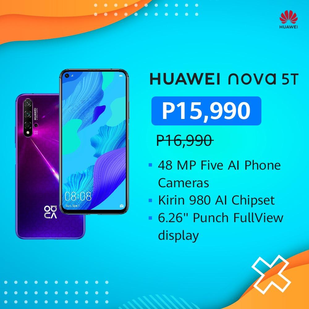 huawei nova 5t discount