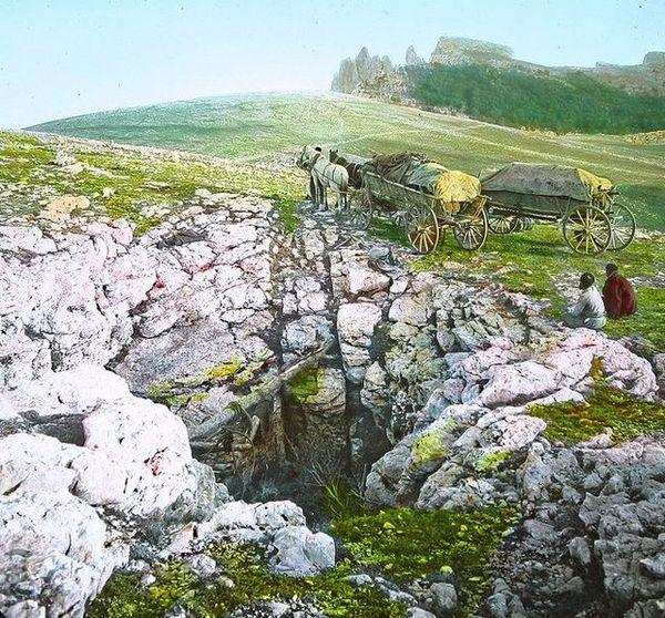 Ледник на плато Ай-Петри. Нач. ХХ в.