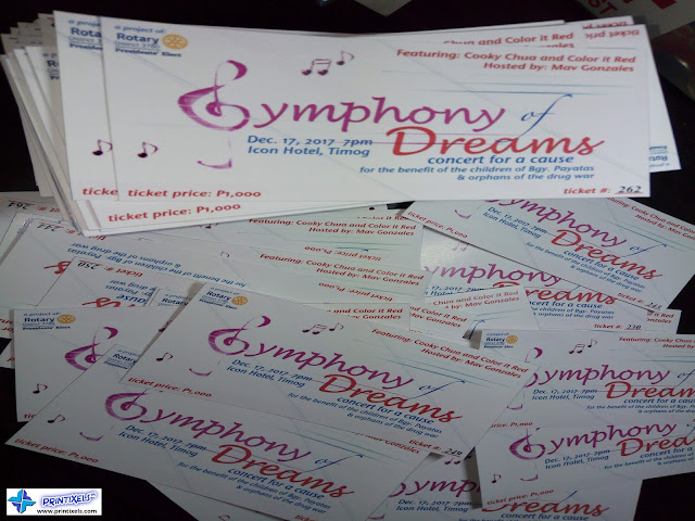 Raffle Tickets With Custom Numbering