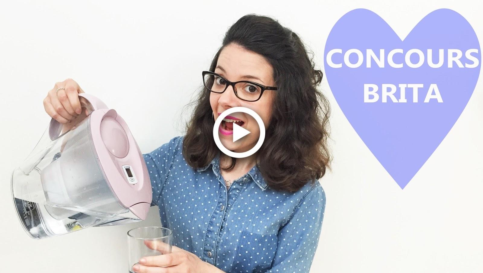 brita concours giveaway cuisine cooking kitchen deco design scandinave moderne rose pastel marella eau water économie carafe filtrante à gagner youtube facebook