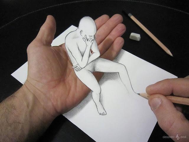 ilusi gambar 3d yang keren dan menakjubkan serta kreatif-2