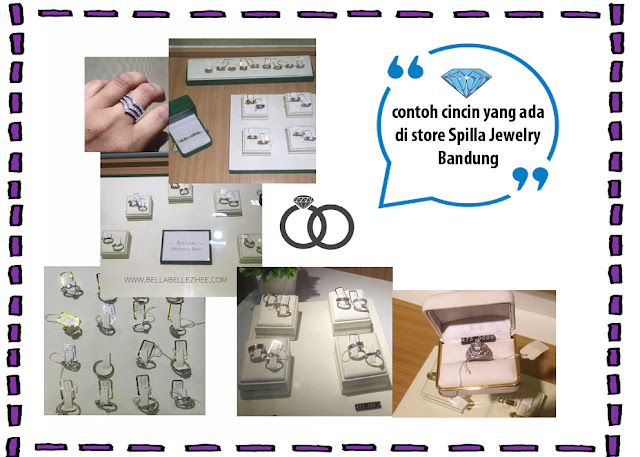 Contoh cincin Spilla Jewelry Bandung
