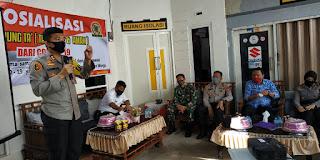 Kapolres Pelabuhan Makassar Gencar Sosialisasikan Balla Ewako Kampung'Ta