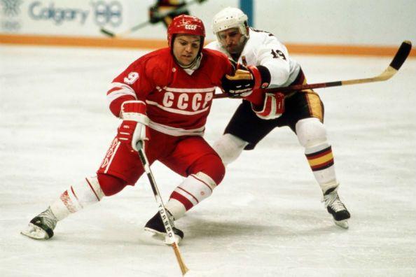 Сборная СССР по хоккею на Олимпиаде 1988 Калгари