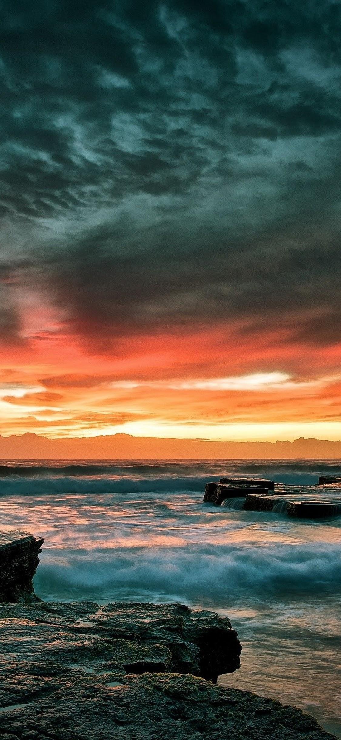 Iphone 11 Wallpaper 4k Sunset