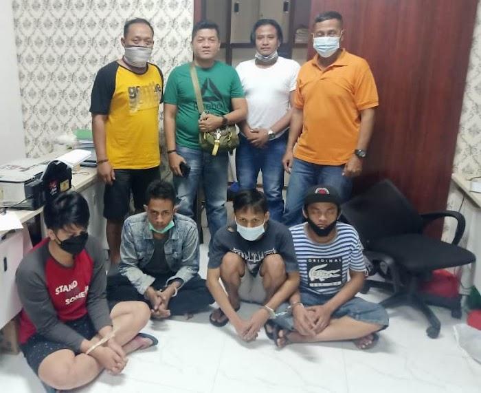 Polisi Ringkus Empat Dari Belasan Preman Pelaku Pengeroyokan Anggota TNI AL di Bungurasih