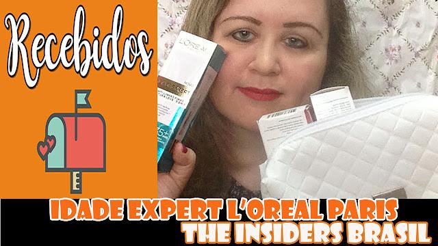 Recebidos Idade Expert L'Oreal Paris - The Insiders Brasil: eu testei