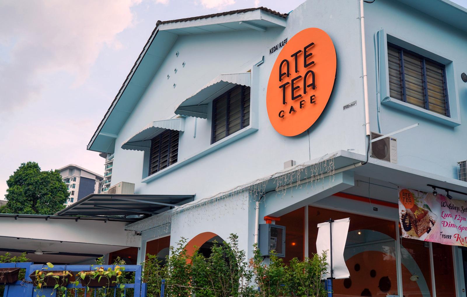 Ate Tea Cafe, Happy Garden