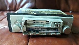 Sharp RG-3915 In-car radio cassette repairs and restoration.