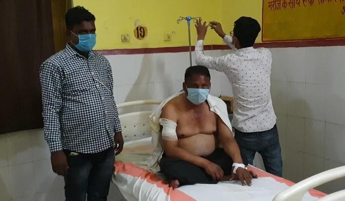 रायबरेली में अज्ञात बाइक सवारों ने राह चलते व्यक्ति को मारी गोली, जिला अस्पताल में भर्ती
