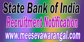 SBI (State Bank of India) Recruitment Notification