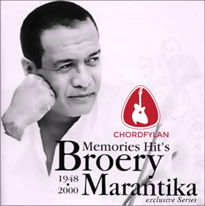 Lirik dan chord Anign Malam - Broery Marantika