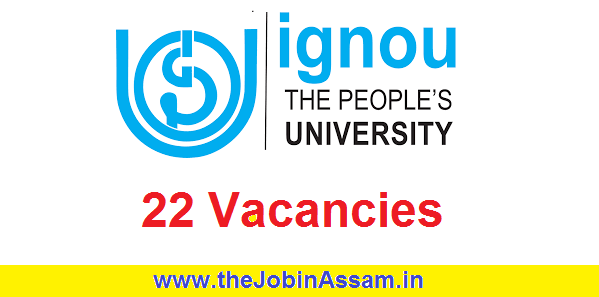 Indira Gandhi National Open University (IGNOU) Recruitment