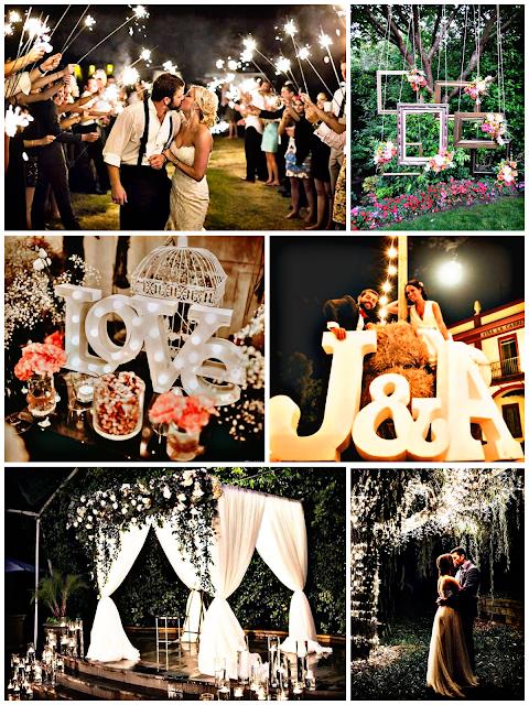 Decoración para bodas rurales