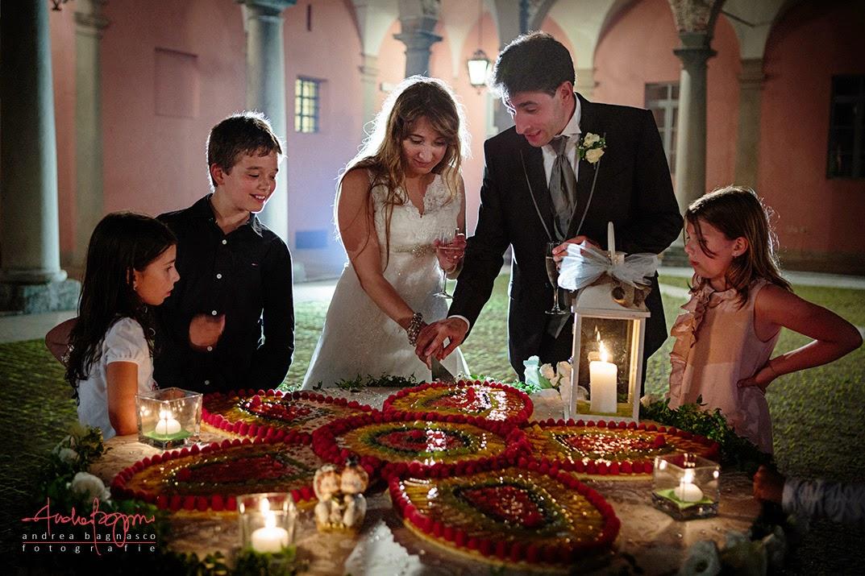 taglio torta nuziale matrimonio Santuario di Vicoforte