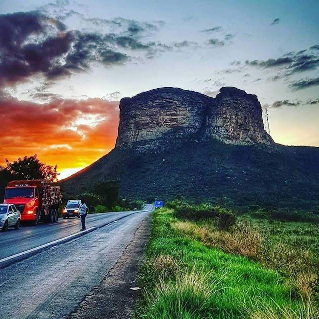 Morro do Pai Inácio em Palmeiras na Chapada Diamantina. (Foto: @ricardo_tim_)
