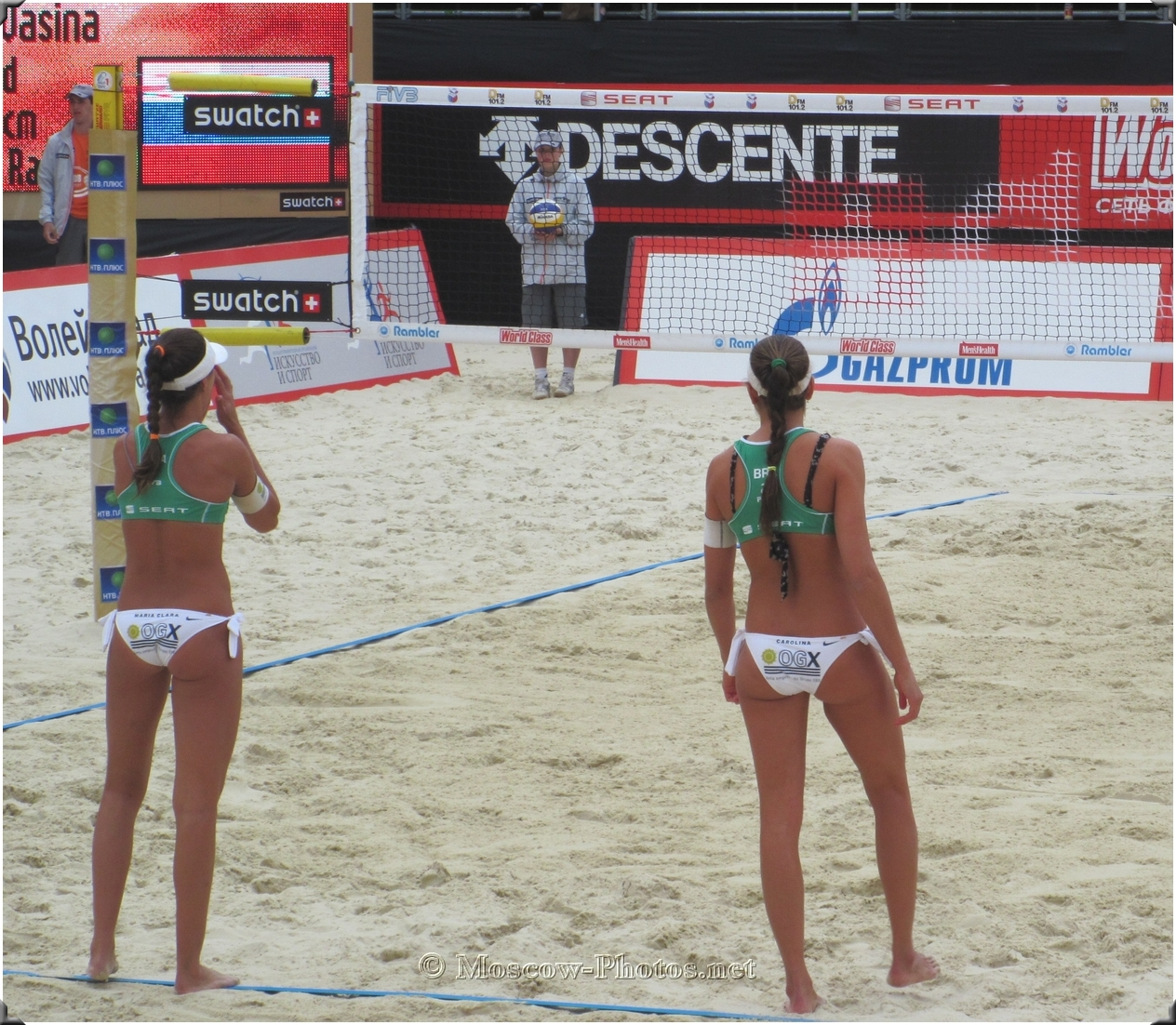 Brazil Beach Volleyball Girls