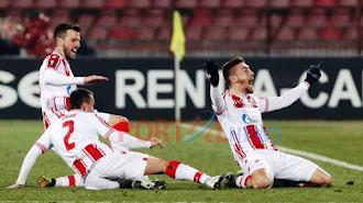 AC Milan Ditahan Oleh 10 Pemain Red Star