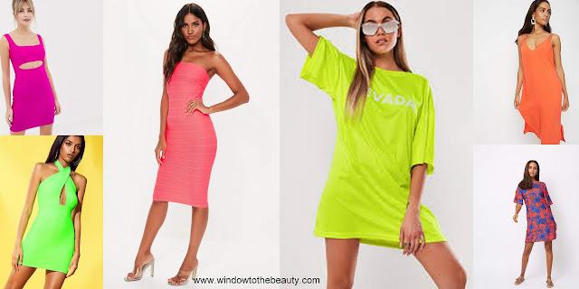 neon dresses
