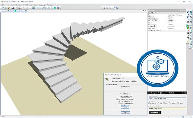 Boole Partners StairDesigner Pro PP.v7.11