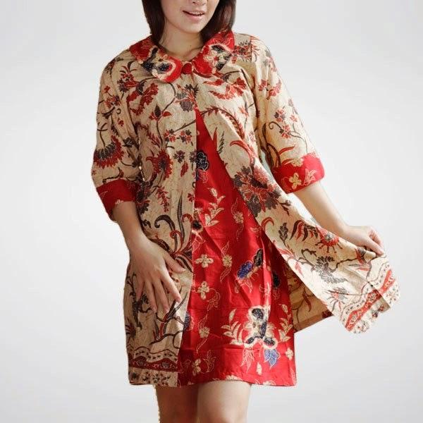 Trend Batik Kerja 2014: Busana Casual Wanita Profesional