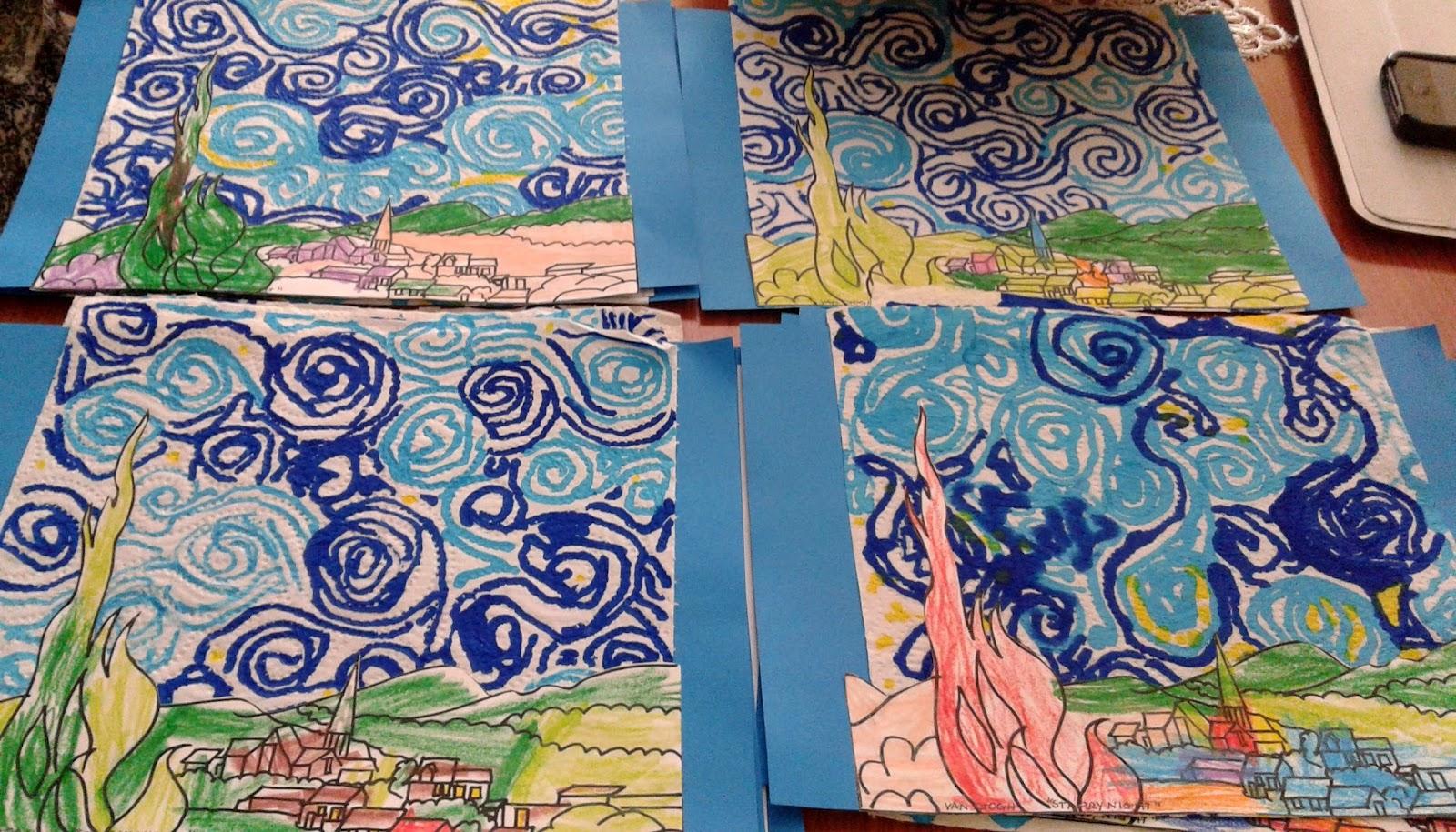 Els nostres moments a l\'aula d\'infantil: Grafismos con La noche ...