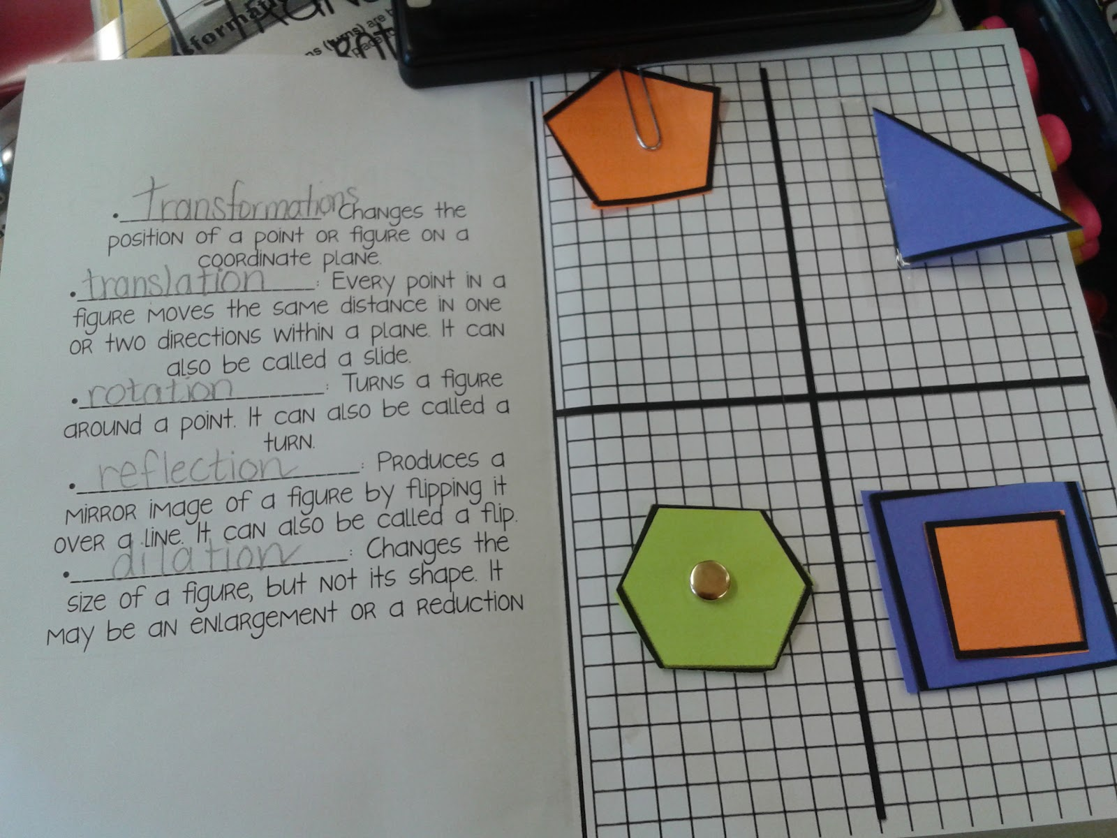 Mrs Dryzal S Fantastic First Grade Transformations Foldable