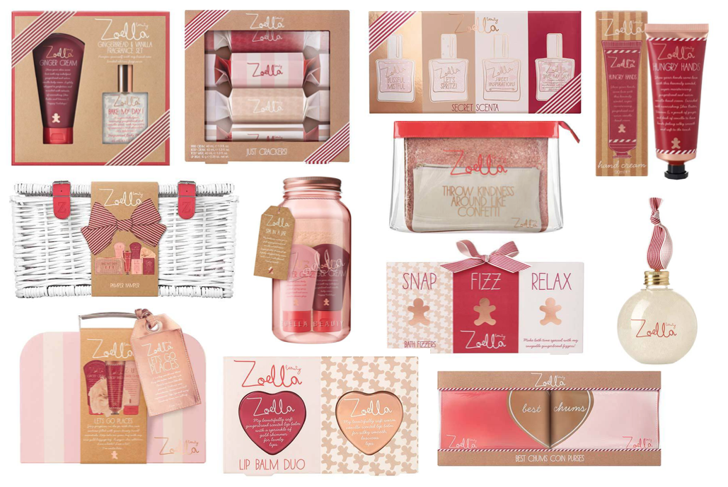 Zoella Beauty Christmas Collection 2016