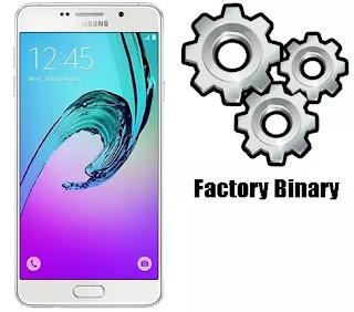 Samsung Galaxy A7 2016 SM-A710K Combination Firmware