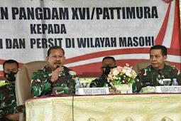 Jeffry Rahawarin Minta Prajurit dan PNS Masohi di Wilayah Masohi Kendalikan Pelanggaran