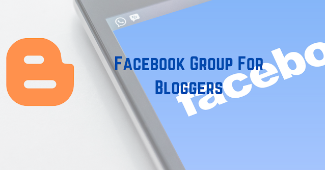 Facebook Group For Bloggers