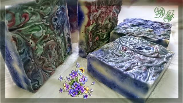Jabon elaborado con germen de trigo y seda natural