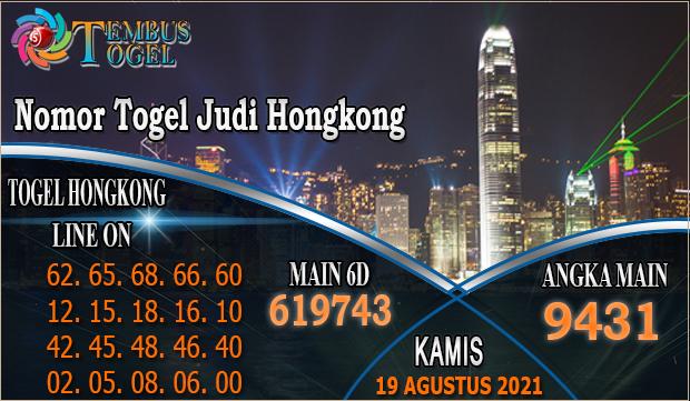 Nomor Togel Judi Hongkong, Kamis 19 Agustus 2021