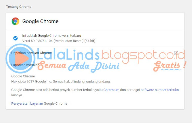 Download Google Chrome 59.0.3071.104 Offline Installer Terbaru